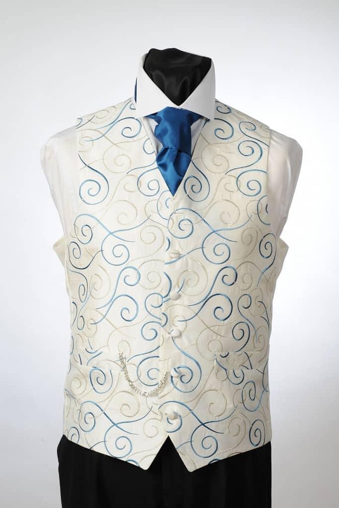 wedding suit hire tambourine waistcoats