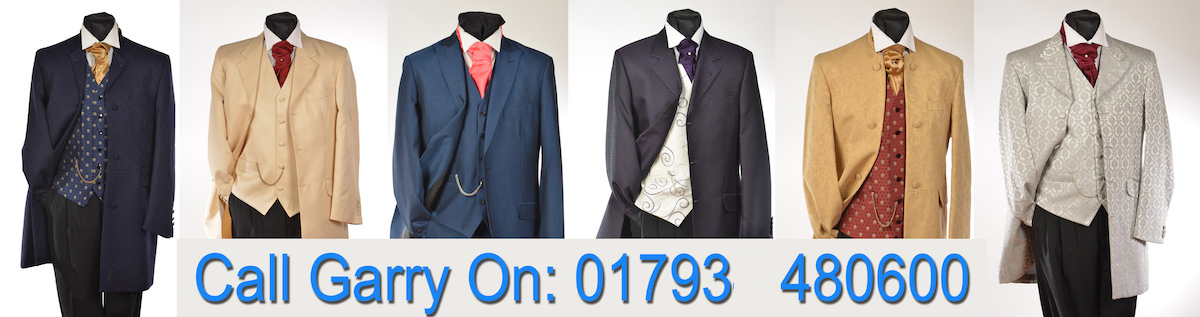 Call Garry Andrew Suit Hire Swindon