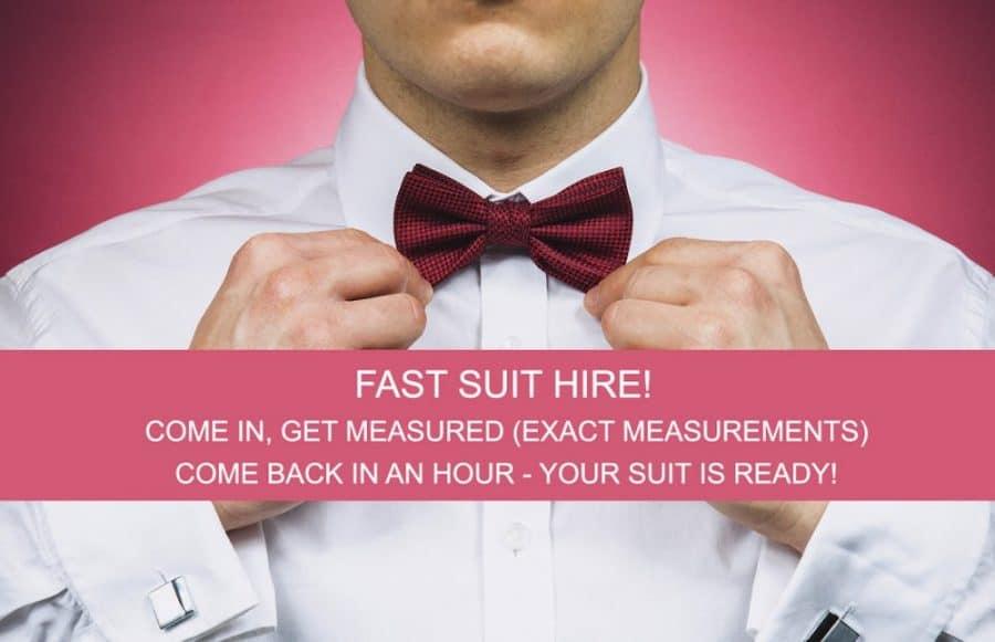 fast suit hire swindon