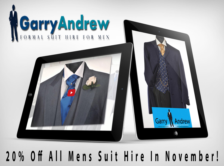1 hour suit hire